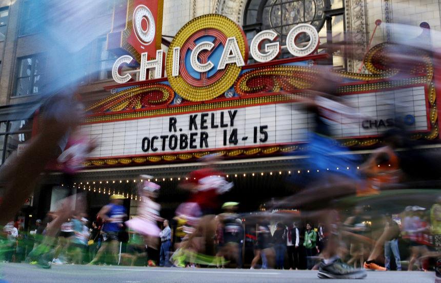 ruta transmision del maraton de chicago