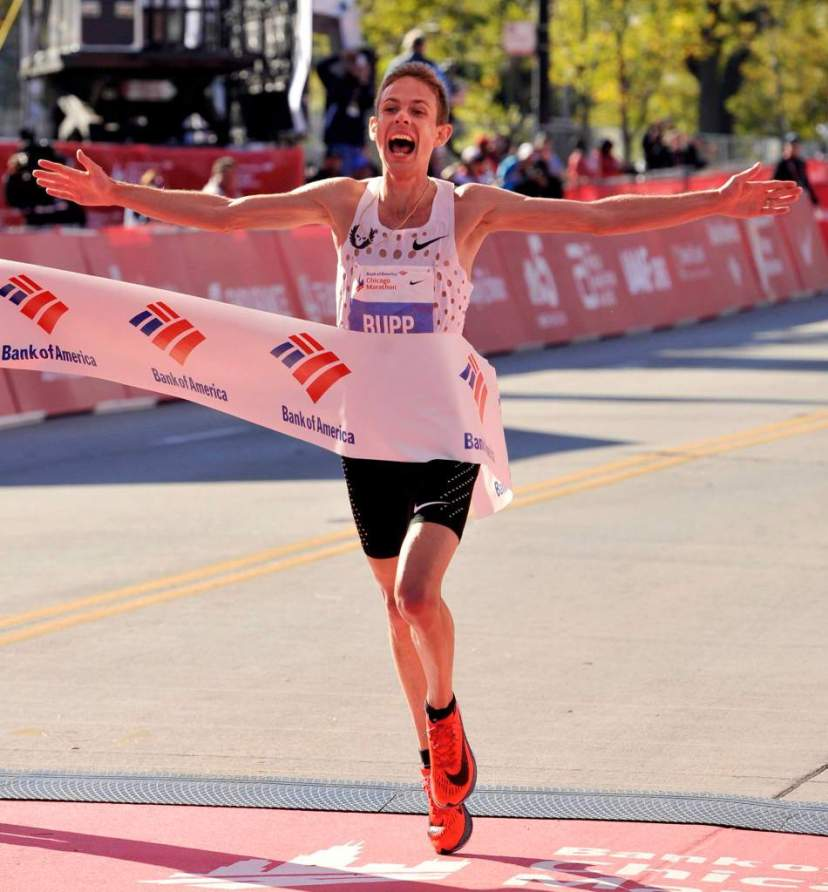 Galen Rupp Maraton Chicago