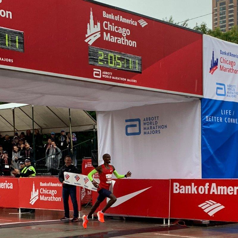 mo farah maraton chicago 2018