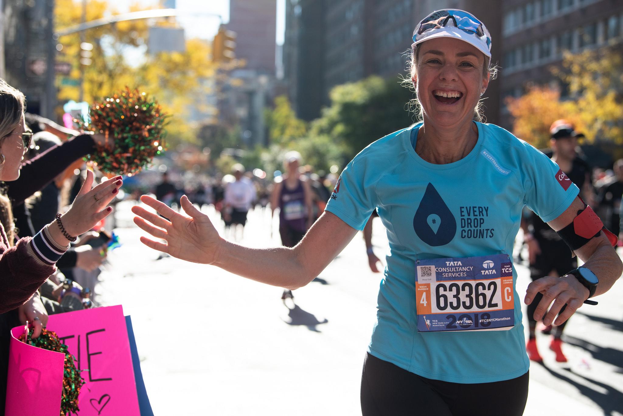 mina guly 100 marathons runningdry