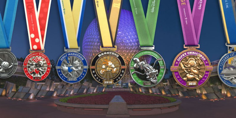 dopey challenge medallas maraton disney
