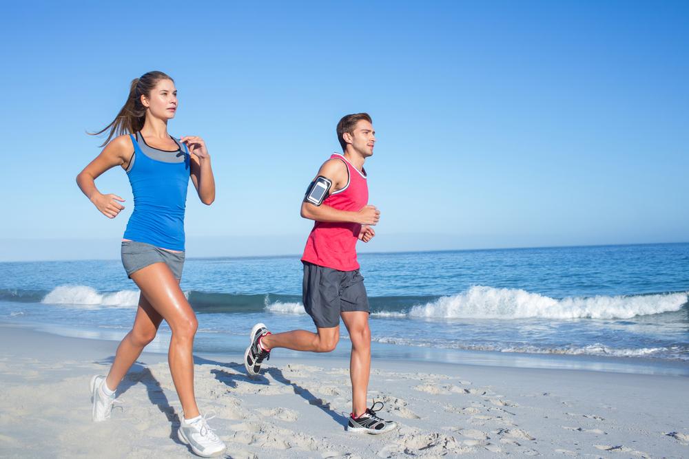 consejos correr vacaciones playa