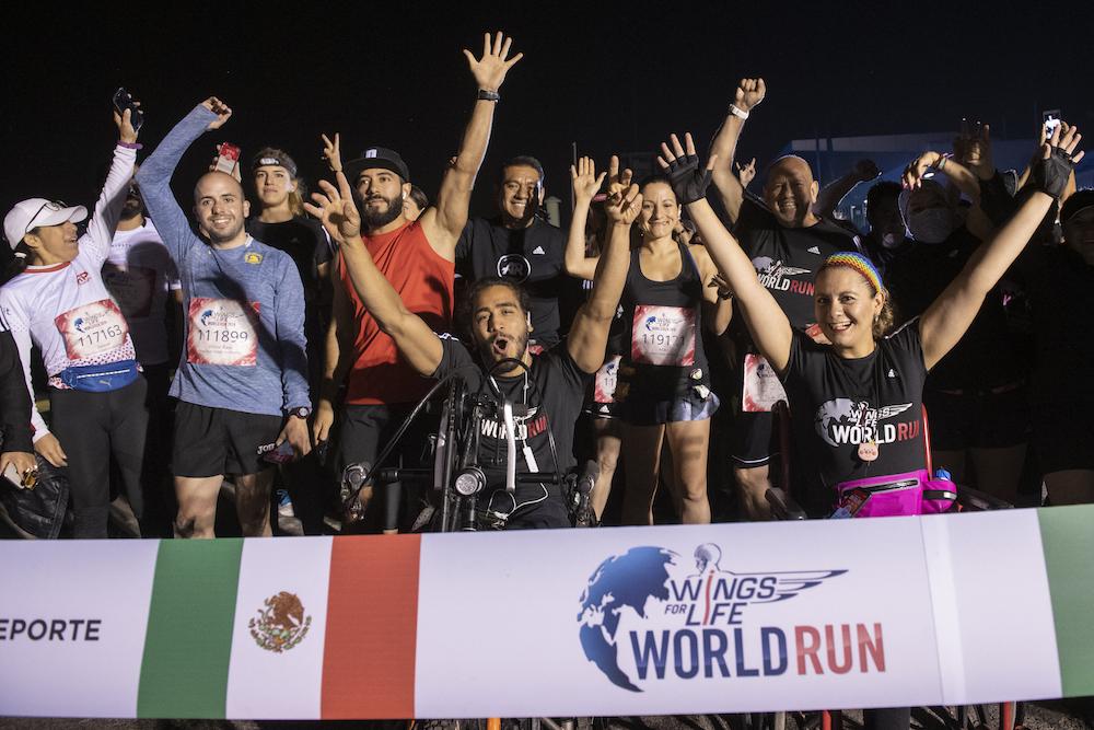Wings for Life World Run México Xochimilco