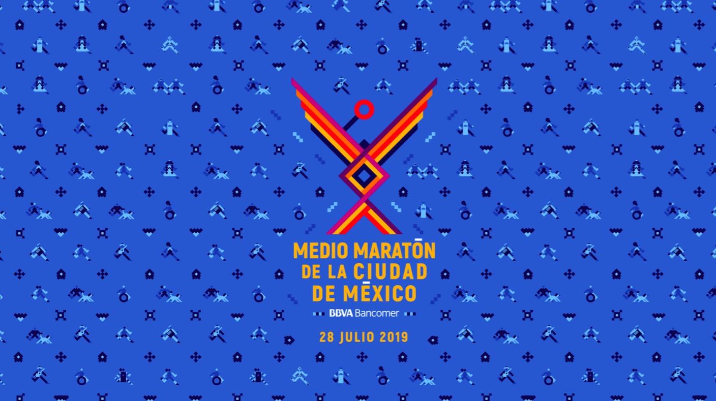 imagen medio maraton ciudad de mexico 21k cdmx
