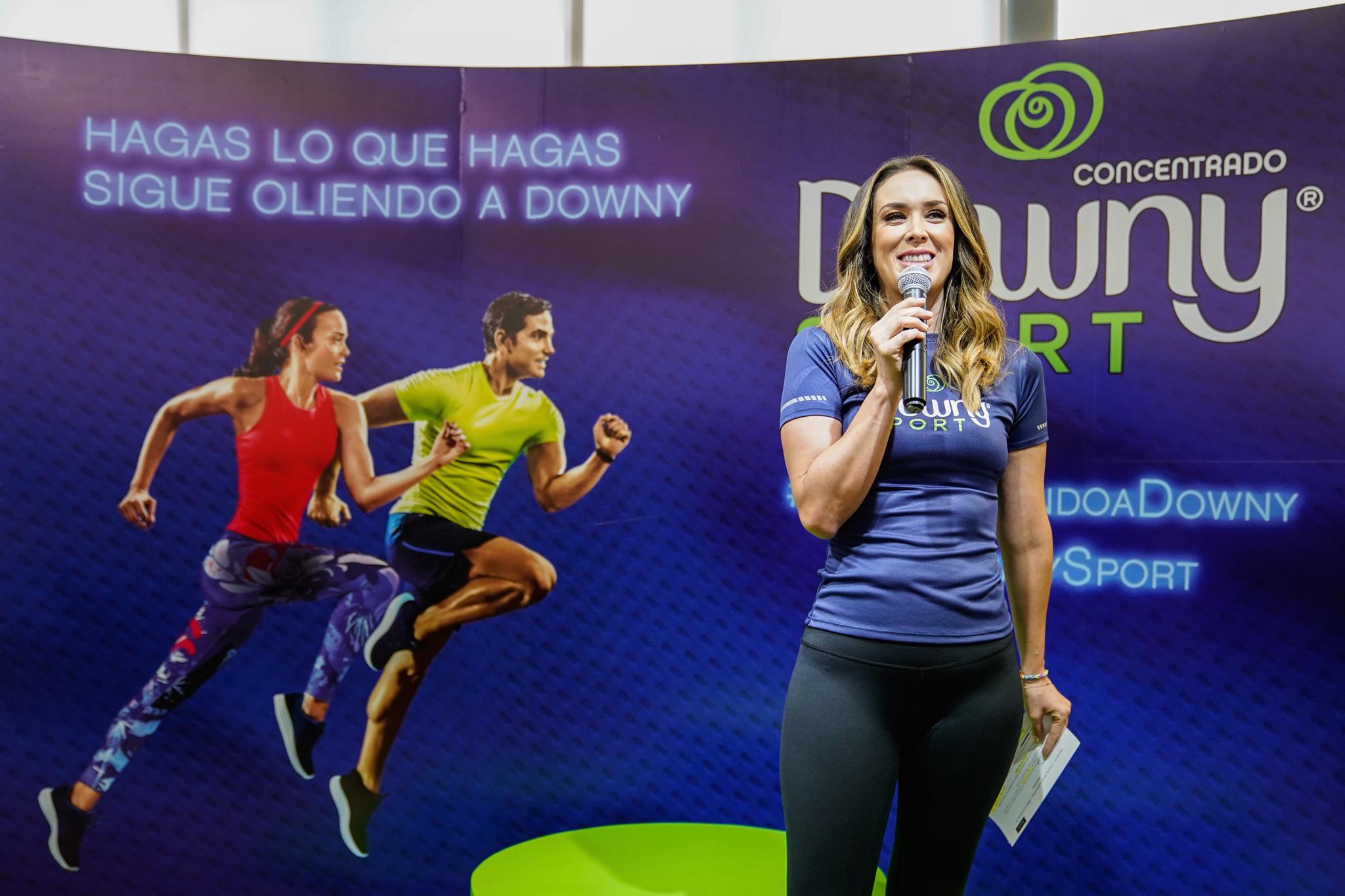 Downy Sport Jacky Bracamontes