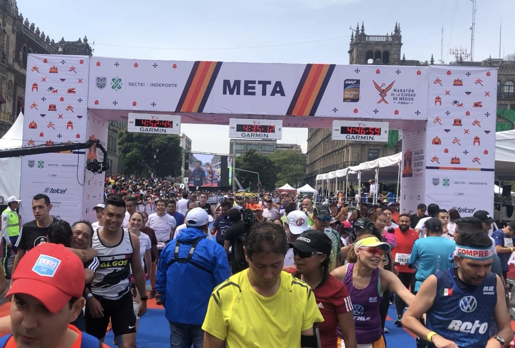 meta maraton cdmx 2019