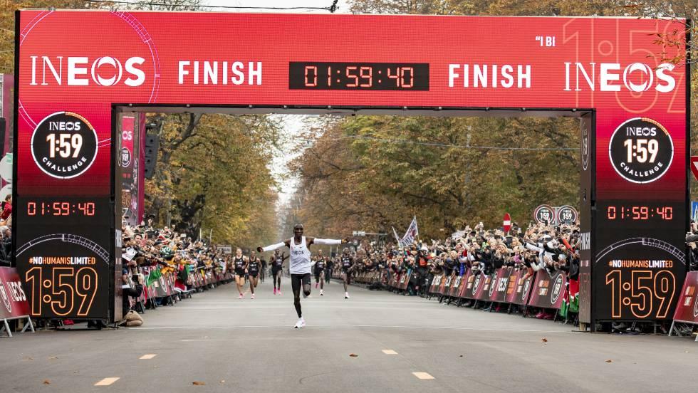 eliud kipchoge ineos 159 maraton 2 horas reto