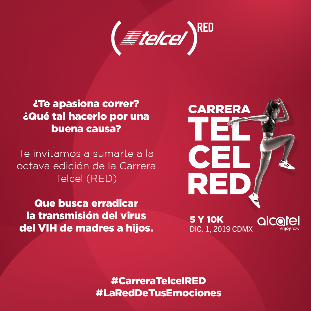 carrera telcel red inscripciones cortesias