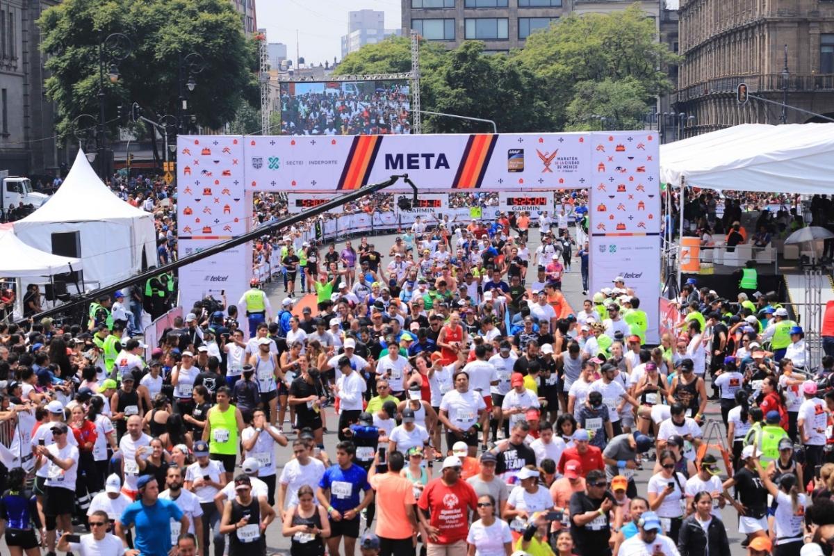 maraton cdmx fecha inscripciones 2020