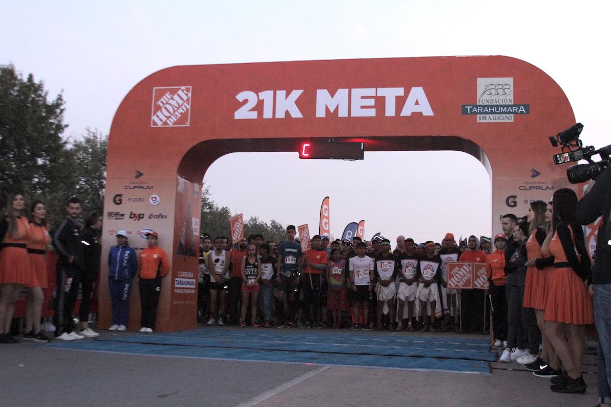 carrera 21K tarahumara resultados